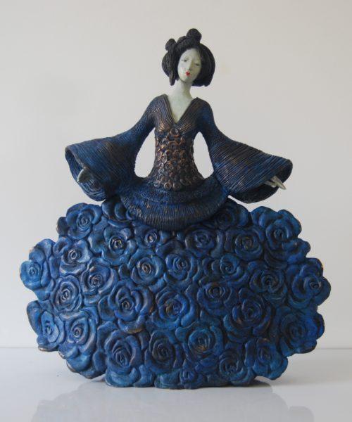 Fille Fleur Bronze Pauline Wateau