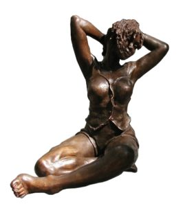 Sculpture Bronze Pauline Wateau