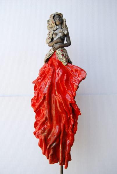 Sculpture Femme Pauline Wateau